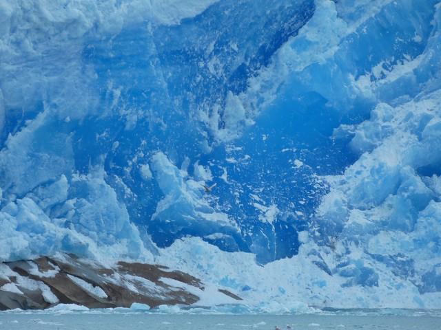 Pared de un glaciar en Groenlandia