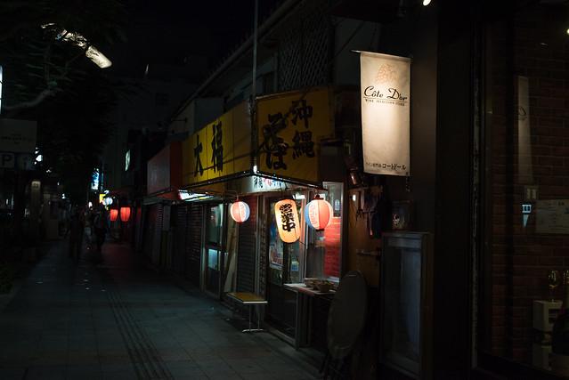 夜の沖映通り。那覇 Naha, Okinawa, 09 Aug 2017 -00169