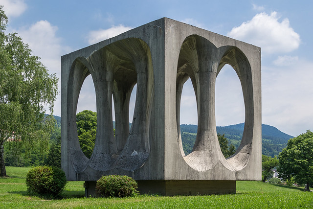 Monument on Freedom Hill - Ilirska Bistrica