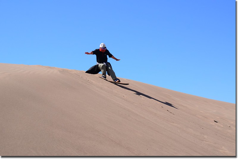 Sledding at Great Sand Dunes  (27)
