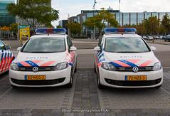 Dutch police Volkswagen Golf plus | Politie