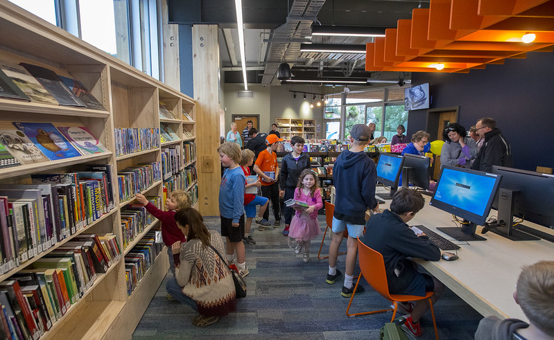 Exploring the new library