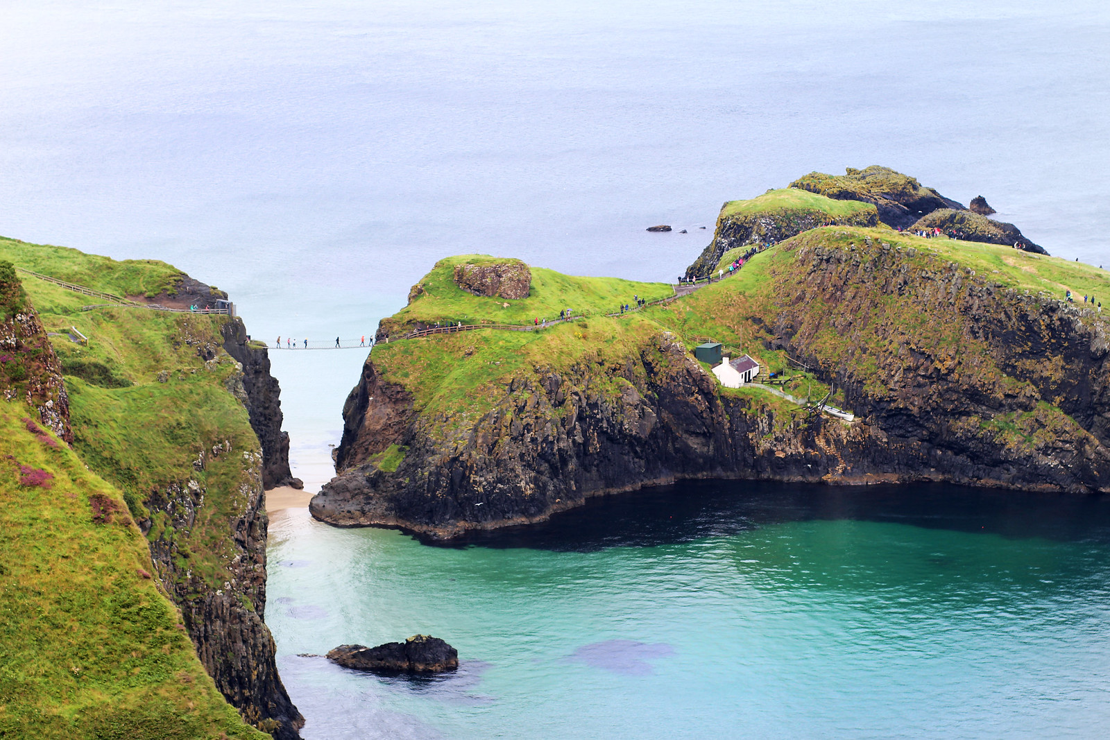 Carrick-a-Rede Causeway Coast Route Northern Ireland travel blogger UK