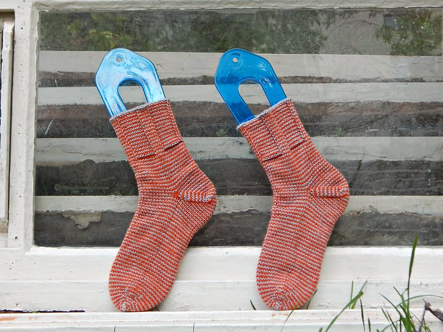 полосатые носки | striped socks - 6