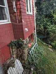 My husband's childhood home.