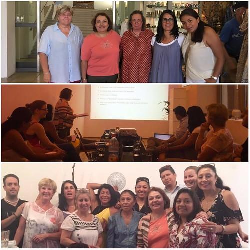 Visita de trabajo de la Cónsul Villanueva a Múnich
