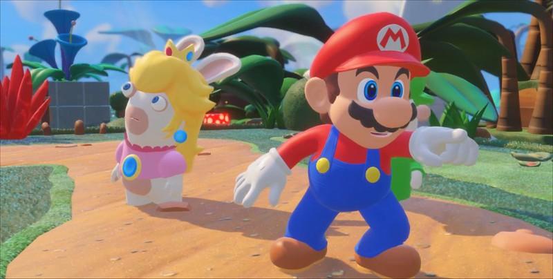 Mario + Rabbids Kingdom Battle - Luigi crie