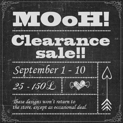MOoH! Clearance sale - SecondLifeHub.com