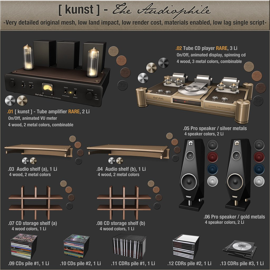 [ kunst ] - The Audiophile - SecondLifeHub.com