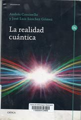 Cassinello y Sánchez Gómez, La realidad cuántica