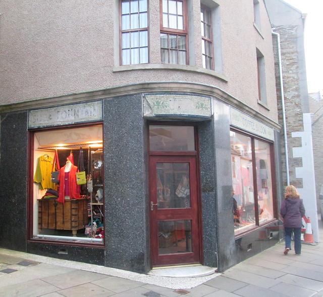 Deco Lettering, Shop, Stromness