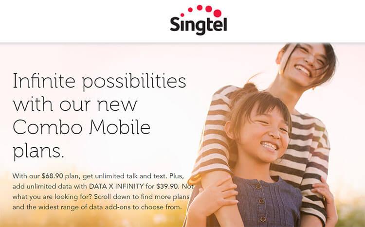 singtel unlimited data