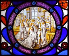 Ahasuerus crowning Queen Esther