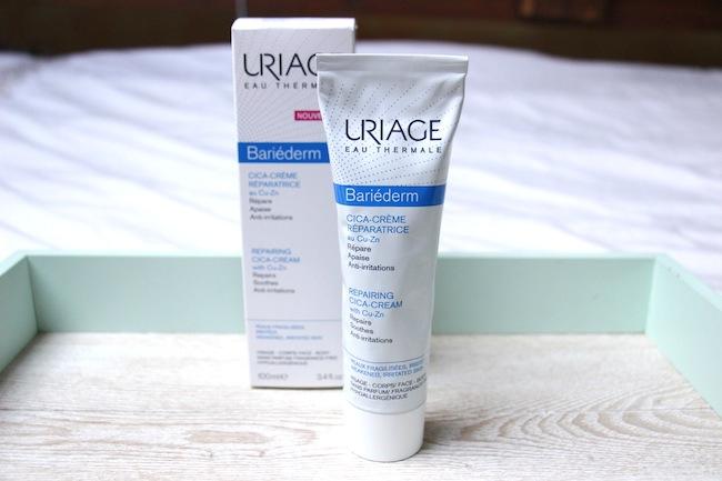 Crème réparatrice bariéderm Uriage, un petit miracle pour la peau