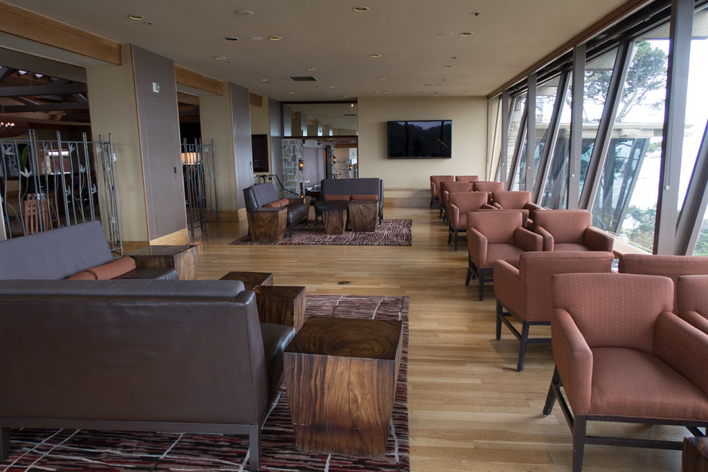 Lounges and Lobby at Hyatt Carmel Highlands