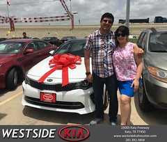 #HappyBirthday to Amin from Rick Hall at Westside Kia!