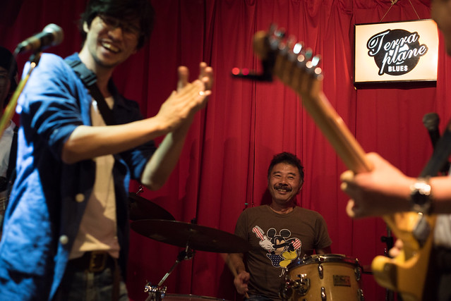 T.G.I.F. blues session at Terraplane, Tokyo, 08 Sep 2017 -00036