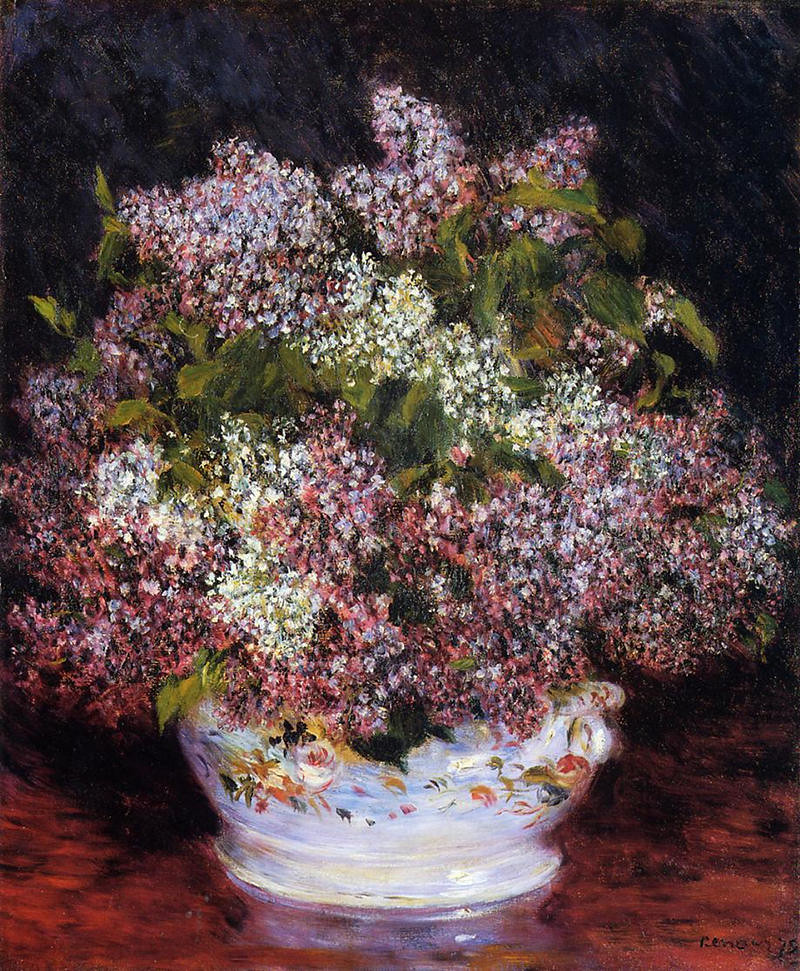 Bouquet of Flowers by Pierre Auguste Renoir, 1878