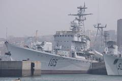 PLAN Type 051 Destroyer Jinan (105) Quingdao Naval Museum China