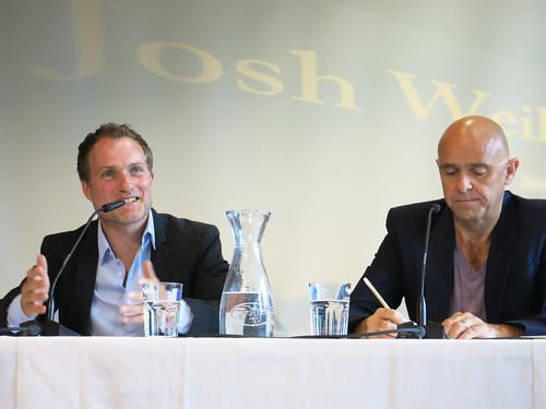 Josh Weil und Ernst Gossner