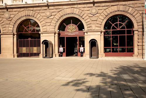 Guardie al palazzo presidenziale