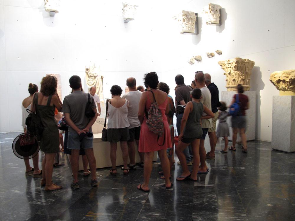 museo teatro cartagena_patrimonio_rafael moneo_sala evolución histórica_turismo cultural