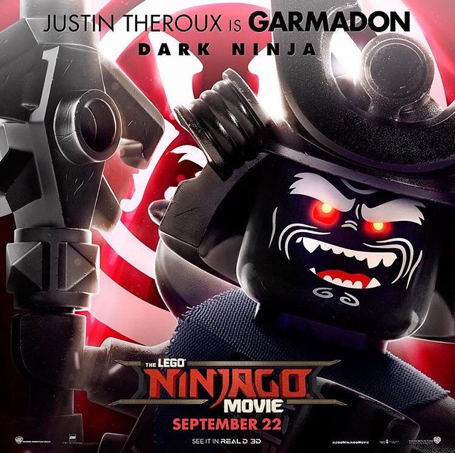 Plakaty postaci z The LEGO Ninjago Movie 3