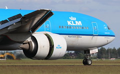 KLM Royal Dutch Airlines Boeing 777-200