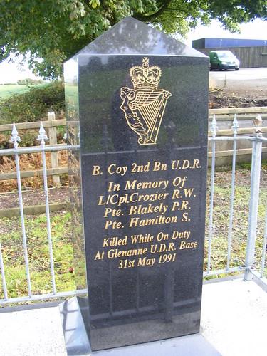 Glenanne UDR Memorial