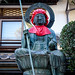 Buddha statue at Zenkoji Temple in Nagano, Japan