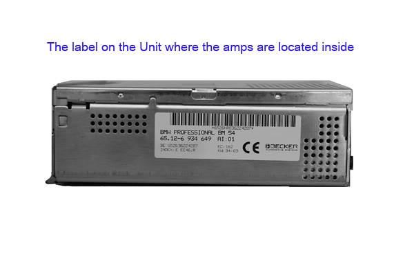 Bm54 amp repair