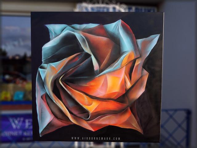 ORIGAMI ROSE 2