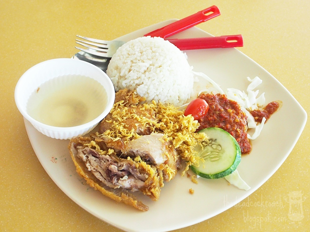 ayam penyet, aspirasi,muslim food, food, food review, halal, malay food, review, seah im food centre, singapore