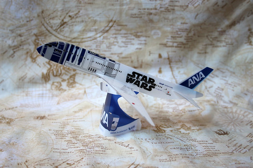 ANA R2D2 model plane