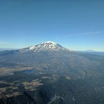 Mount Adams and Mount Saint Helens