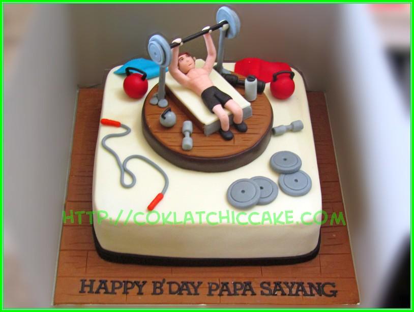 cake Gym Papa