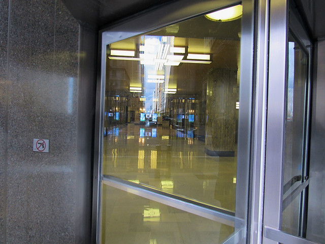 Entrance to Chicago Board of Trade