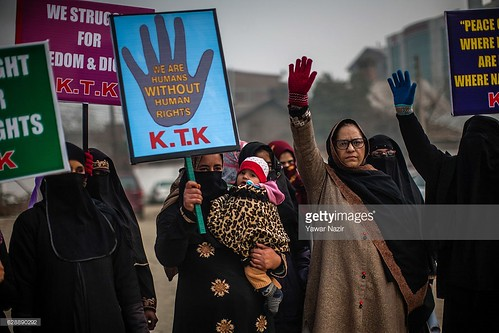 KTK Holds Peaceful Protest in Srinagar