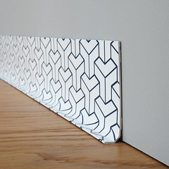 trends diy decor ideas plinthe blue block ma plinthe d co. Black Bedroom Furniture Sets. Home Design Ideas