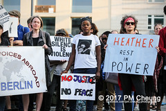 Kundgebung: Berlin Stands with Charlottesville - 16.08.2017 ? Berlin - IMG_3559