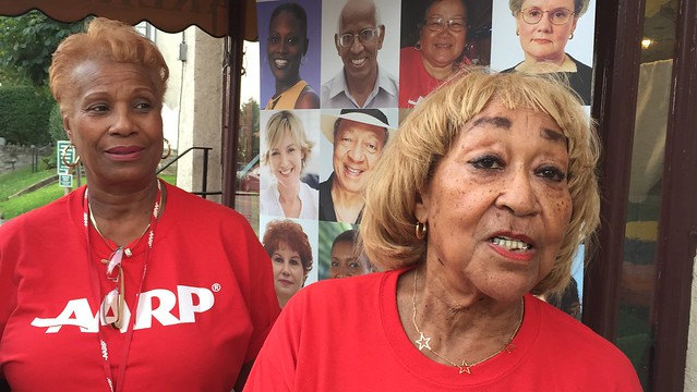 Health care is outrageous say AARP volunteers