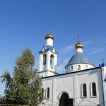 Литургия в  Свято-Успенском храме станицы Старотитаровской