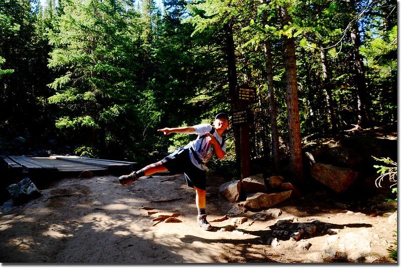 Thumb Trail & Devils Thumb Bypass Trail fork 1