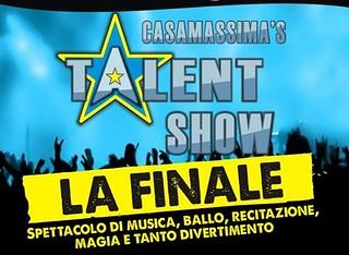 Locandina finale talent 1