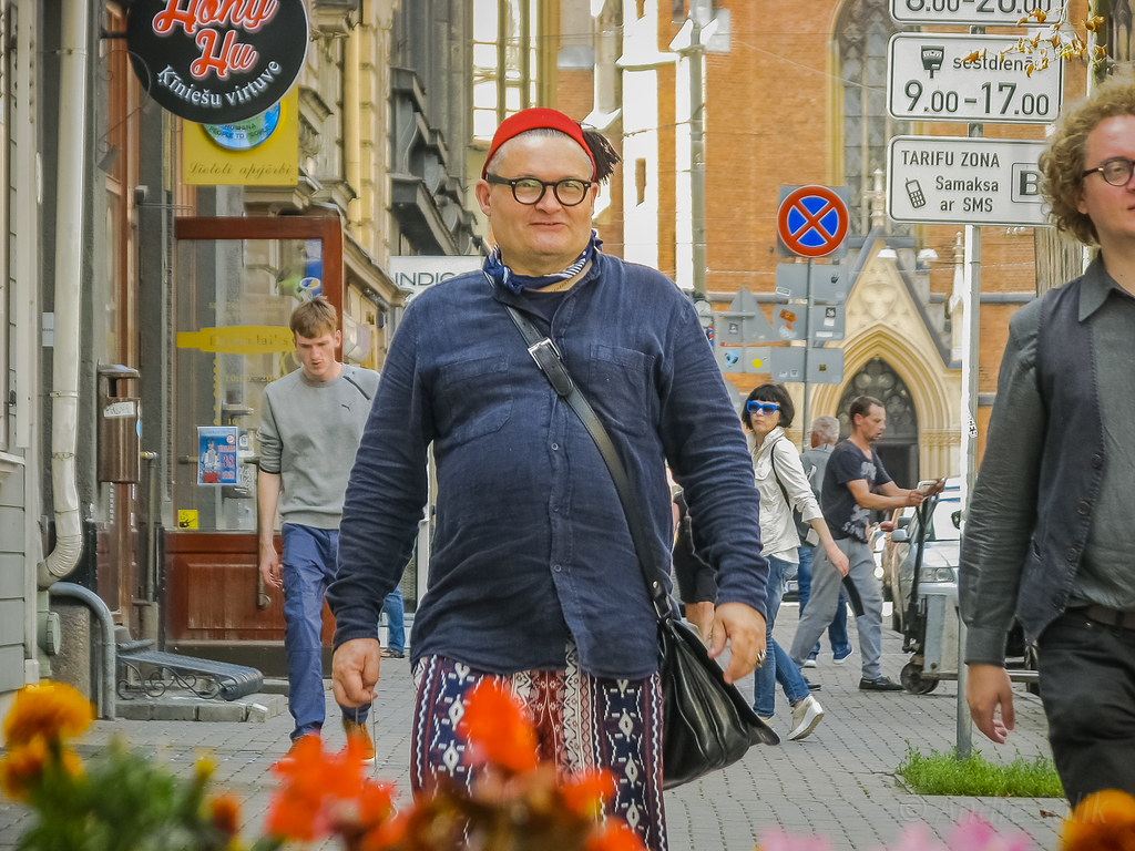 A great street portrait. IMG_2078