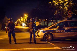 Polizeilage Hochheim 03.08.17