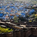 The Mehrangarh Fort and the Blue City of Jodhpur. India by ravalli1