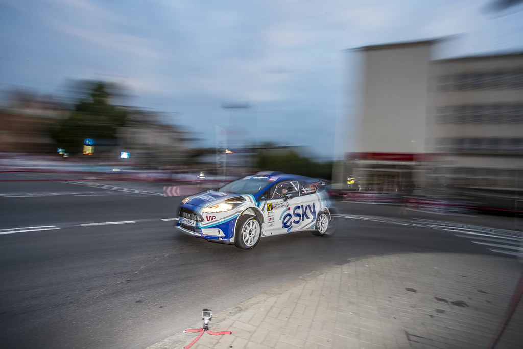 17 HABAJ Lukasz (POL) DYMURSKI Daniel (POL) Ford Fiesta R5 action during the 2017 European Rally Championship Rally Rzeszow in Poland from August 3 to 5 - Photo Gregory Lenormand / DPPI
