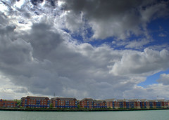 Cloudy Preston Docks