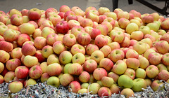 Fresh fruits for sale in Amritsar, India